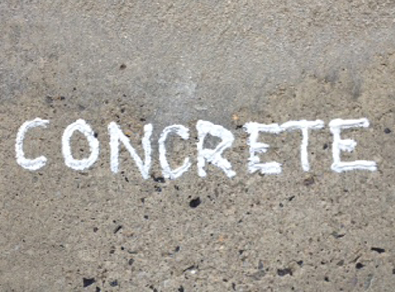 Permanent Marker for Concrete