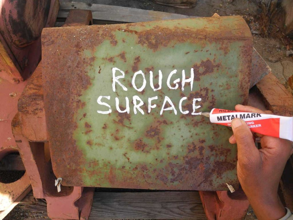 Permanent Markers for Rough Surfaces